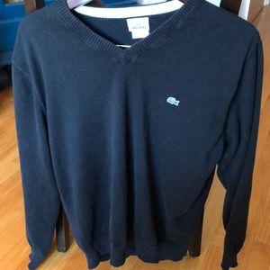 Men's Black Lacoste Sweater